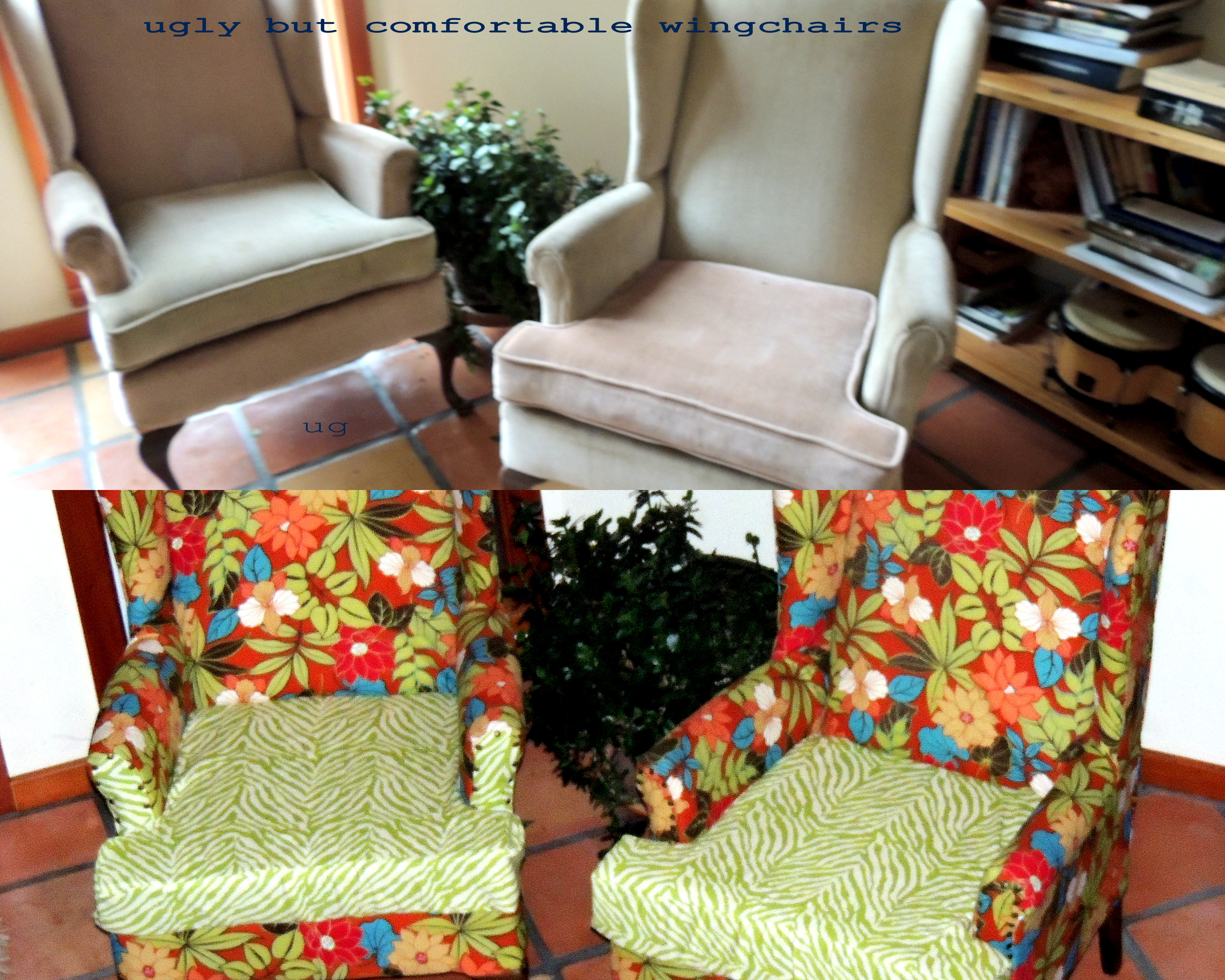 If You Are A Perfectionist Or A Professional, You Probably Will NOT Like  This Whole Situation! But If You Want To Quickly Recover A Wingback Chair  With Very ...