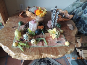 Our Fall Nature Table