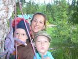 cari kyler kaleb in treehouse