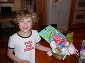 Kyler on easter