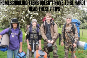 Homeschooling Teens